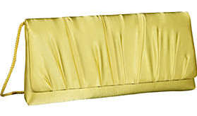 La Regale Pleated Flap Clutch