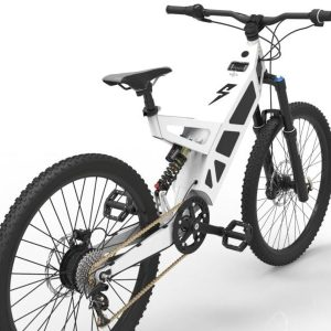 P-7 Stealth Bike White