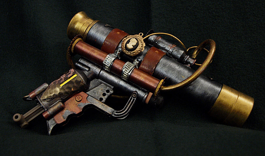 Nerf N Strike Jolt EX 1 Blaster Steampunk Telescopic