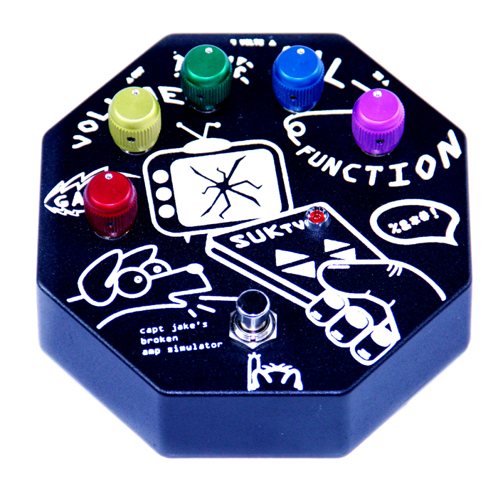 Broken Amp Simulator effects pedal