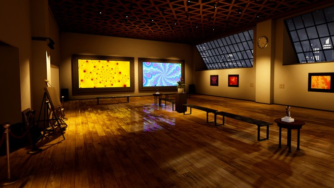 Fractal Gallery VR screenshot 1