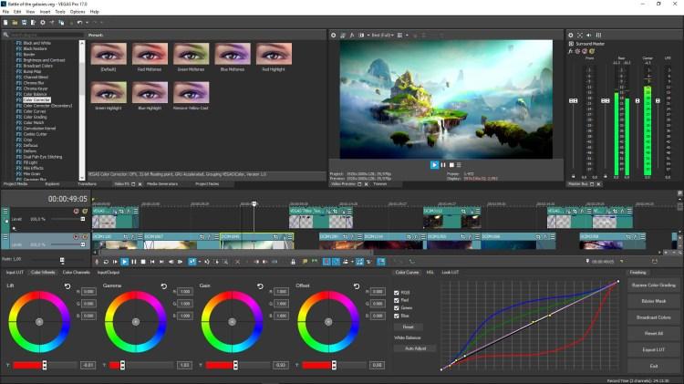 Imagini pentru Sony Vegas Pro 17