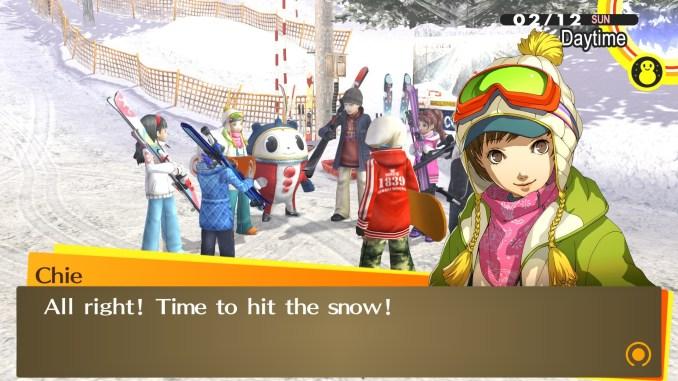 Persona 4 Golden Screenshot 1