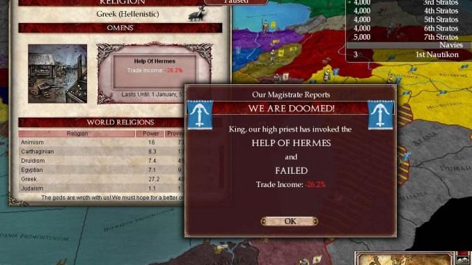 Europa Universalis: Rome Gold screenshot 2