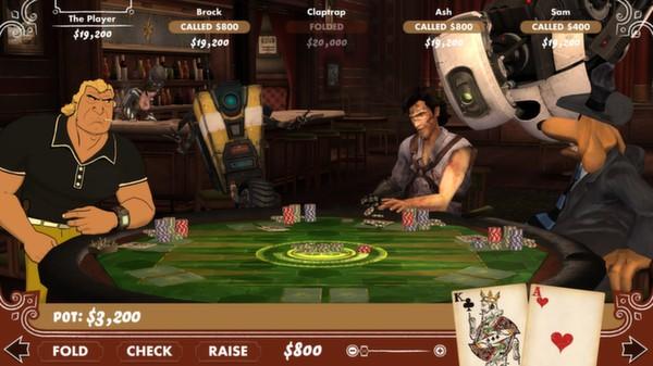 Poker Night 2 Screenshot