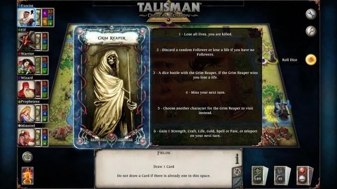 Talisman: Digital Edition Screenshot 2