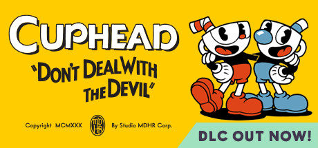 Cuphead steam game banner