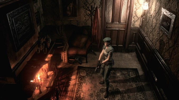 Resident Evil HD Remaster Screenshot 1