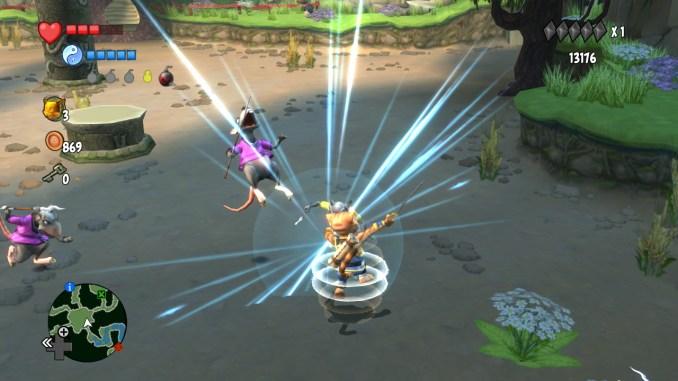 Legend of Kay: Anniversary screenshot 2