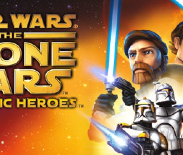 Star Wars The Clone Wars Republic Heroes Lets Star Wars Fans Young And Old Live Out The Sweeping Galactic Adventures Of The Clone Wars