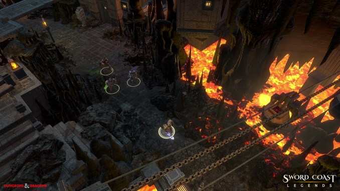 Sword Coast Legends: Rage of Demons Screenshot 2