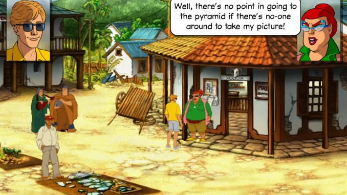 Broken Sword 2: The Smoking Mirror Screenshot 1