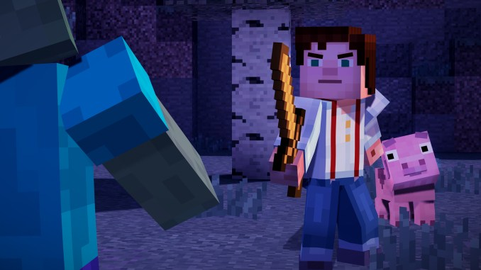 Minecraft: Story Mode Screenshot 3