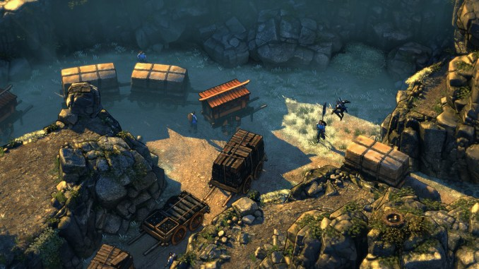 Shadow Tactics: Blades of the Shogun Screenshot 2
