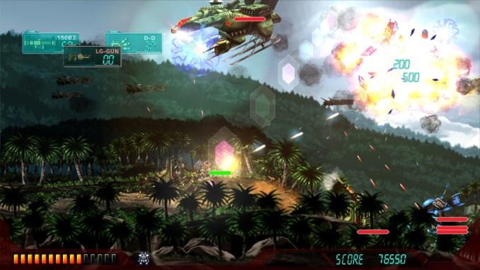 Assault Suit Leynos Screenshot 1