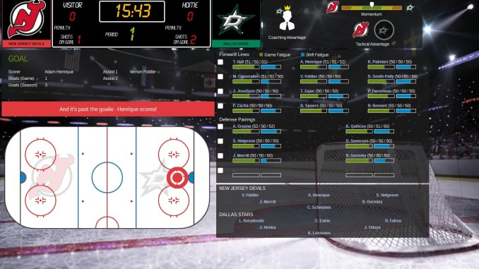 Franchise Hockey Manager 3 Screenshot 2