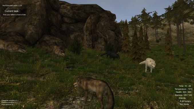Wolf Simulator Screenshot 3