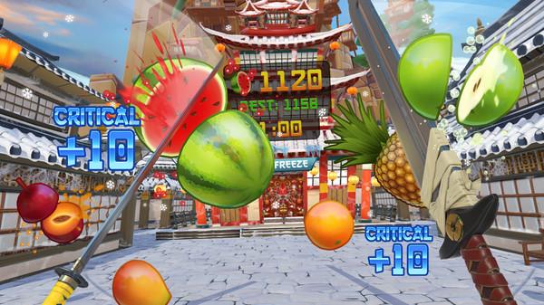 Fruit Ninja VR Screenshot