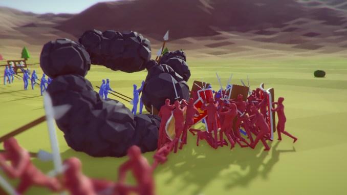 Totally Accurate Battle Simulator Screenshot 1