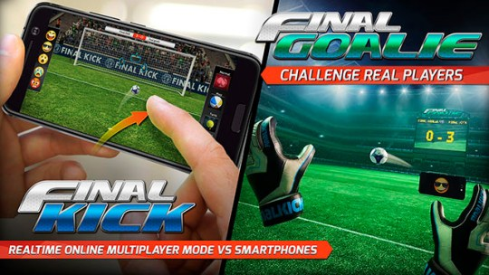 VR Game  Final Soccer VR     Kick game  free app with over 20 million players  Hilarious interaction  where your friends will see you moving in real time from their smartphones