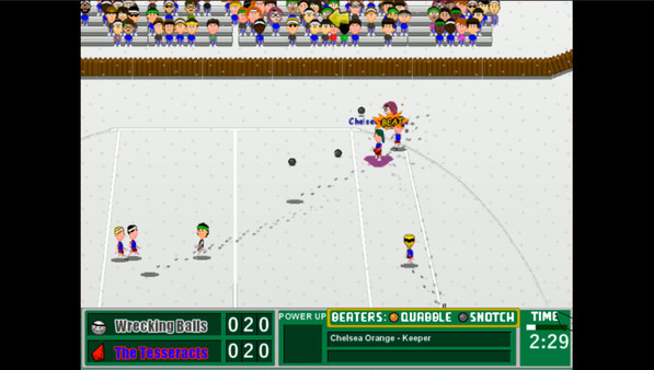 Courtyard Broomball Screenshot