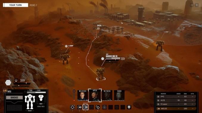 BattleTech screenshot 3