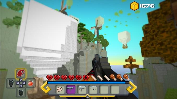 Block Survival: Legend of the Lost Islands Screenshot 2