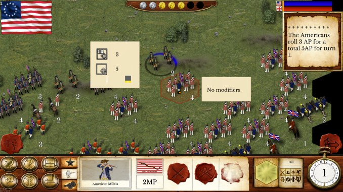 Hold the Line: The American Revolution Screenshot 1
