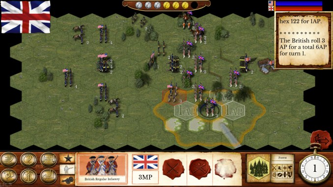 Hold the Line: The American Revolution Screenshot 3