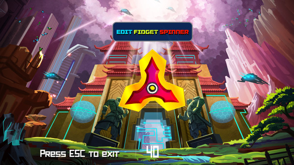 Fidget Spinner Editor Screenshot