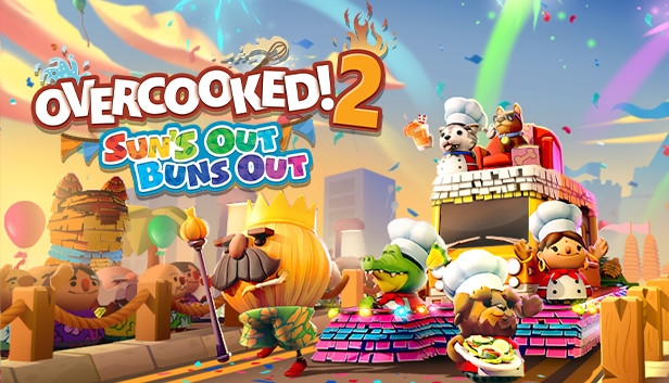 Overcooked! 2: Suns Out, Buns Out Update - gamologi.com