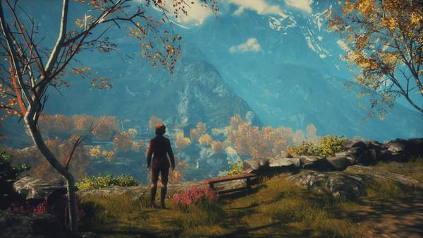 Draugen スクリーンショット 山間の景色