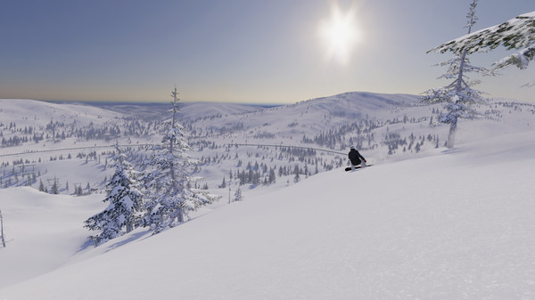 The Snowboard Game Screenshot