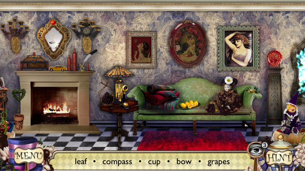 Alice's Adventures. Hidden Object Screenshot