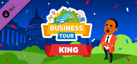 Business tour. Great Leaders: King