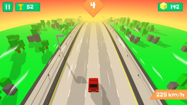 Pixel Traffic: Highway Racing Screenshot