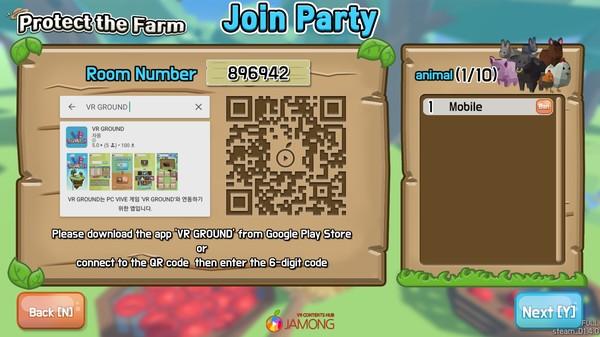 Crazy Farm : VRGROUND Screenshot