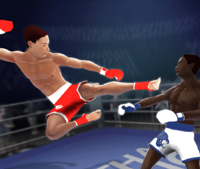 Muay Thai Fighting Is An Ultimate Combat Sports Simulator For Real Champions Take Part In Tournaments Show Your Powerful Techniques Try To Knock Out Your