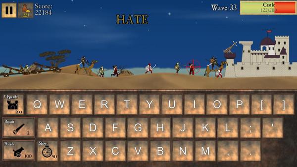Type Defense Screenshot