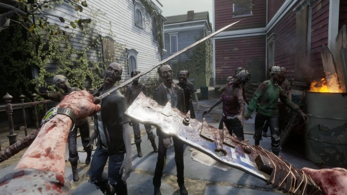 The Walking Dead: Saints & Sinners screenshot 1