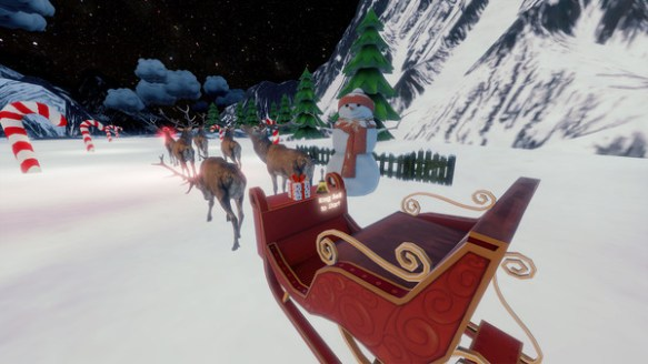 "Steam New Release: Santa Simulator (Free for ""Richie's Plank"