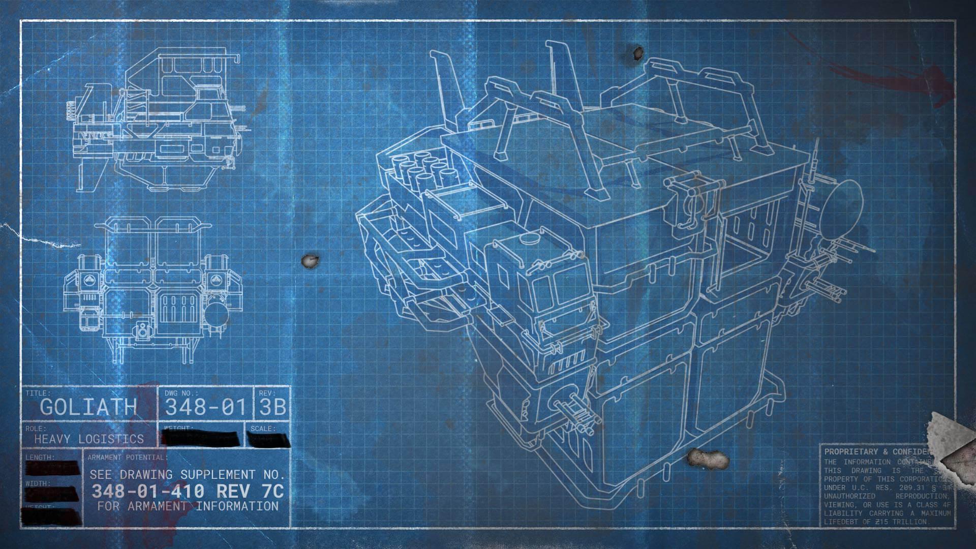 Deck Light Plans Yu 410 Freighter