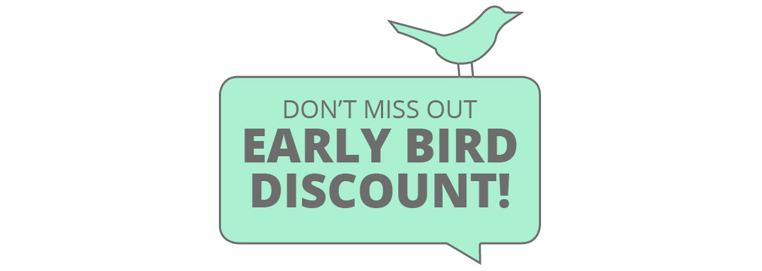 Early Bird Pricing Ends May 31!