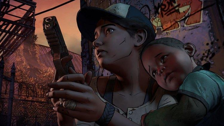 babyclem-The Walking Dead