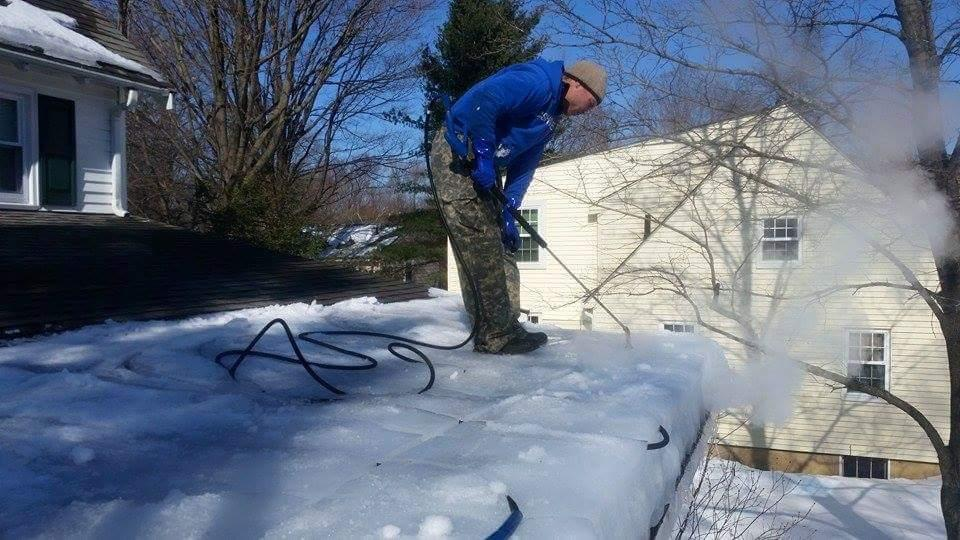 Steam Ice Dam Removal Ny Professional Ice Dam Removal
