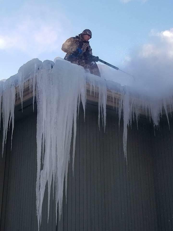 Rochester Ny | Steam Ice Dam Removal MN SD NY