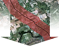 detailed Map of Keystone XL pipeline