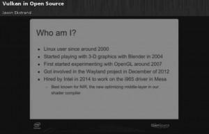 Intel ha organizzato una conferenza su Vulkan