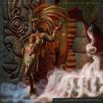 Steampunk Aztec Priestess