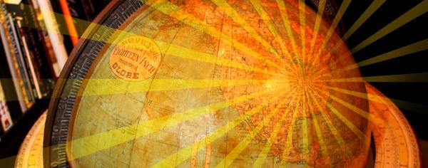 chicago steampunk globe